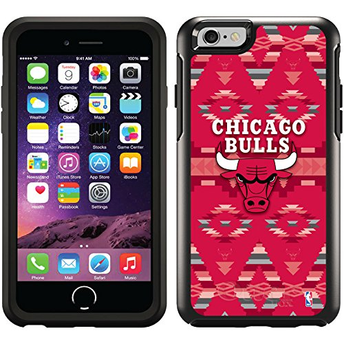 Coveroo Symmetry Series Cell Phone Case for Iphone 6 - Chicago Bulls - Tribal Print design