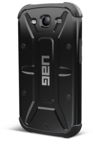 UAG Samsung S III Feather-Light Composite [BLACK] Military Drop Tested Phone Case