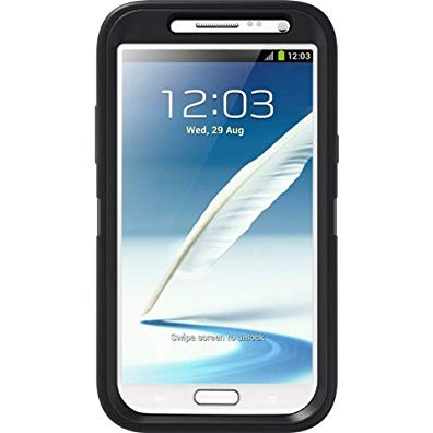 OtterBox Defender Series Case and Holster for Samsung Galaxy Note 2 - Black (Discontinued by Manufacturer)