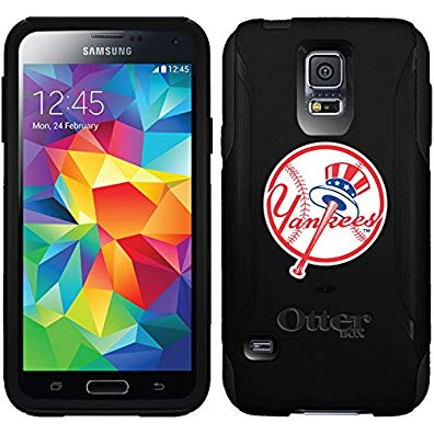 Coveroo Commuter Series Cell Phone Case for Samsung Galaxy S5 - Retail Packaging - New York Yankees Yankees