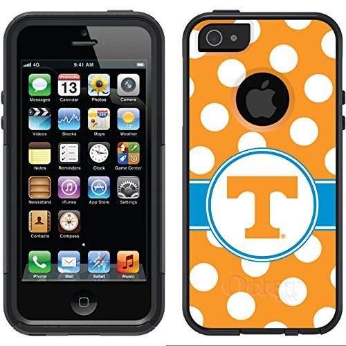 Coveroo Commuter Series Case for iPhone 5/5s - University of Tennessee Polka Dots