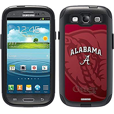 Coveroo Commuter Series Cell Phone Case for Samsung Galaxy S6 - Alabama Watermark