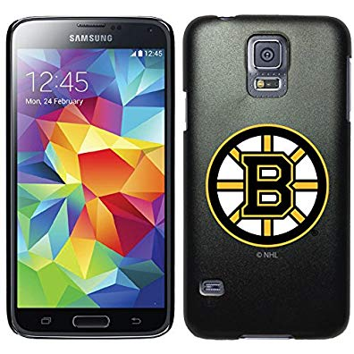Coveroo Symmetry Series Cell Phone Case for Samsung Galaxy S5 - Boston Bruins Primary Logo