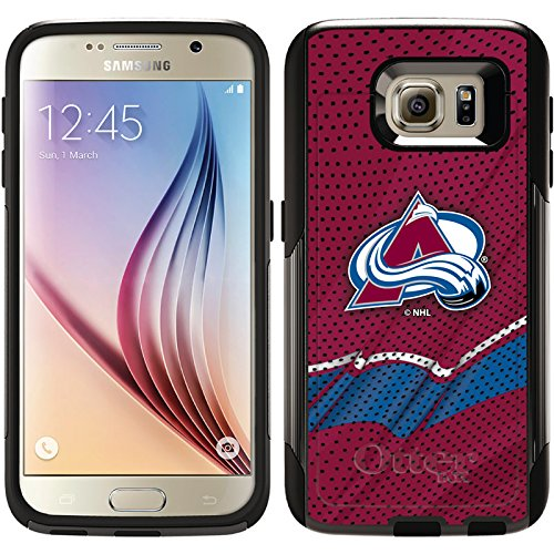 Coveroo Commuter Series Cell Phone Case for Samsung Galaxy S6 - Colorado Avalanche Home