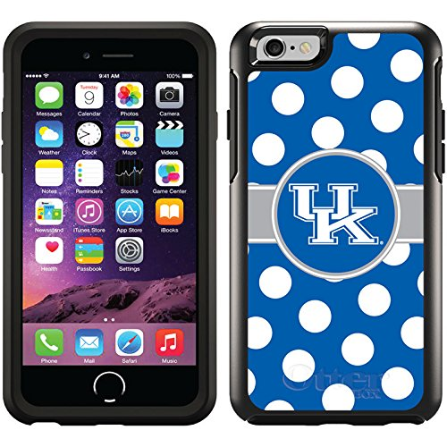 Coveroo Symmetry Series Cell Phone Case for iPhone 6 - Retail Packaging - Kentucky - Polka Dots