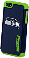 Forever Collectibles Seattle Seahawks Rugged Dual Hybrid Apple iPhone 4 & 4S Case