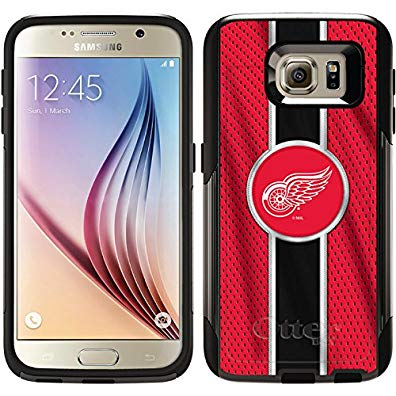 Coveroo Commuter Series Cell Phone Case for Samsung Galaxy S6 - Detroit Red Wings Jersey