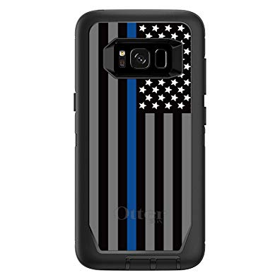 CUSTOM Black OtterBox Defender Series Case for Samsung Galaxy S8+ PLUS (6.2