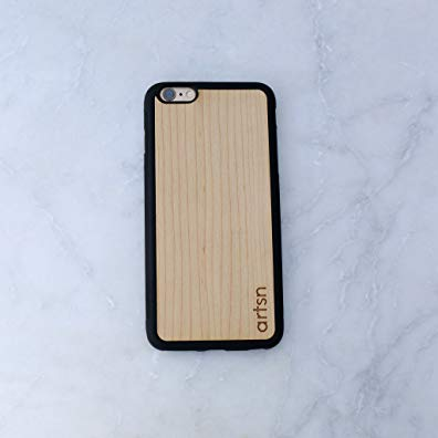 Artsn Goods Unique Real Handmade Natural Real Maple Wood Hard Case for Iphone 5