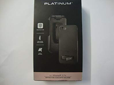 Platinum - Holster Case for Apple iPhone 7 - Black